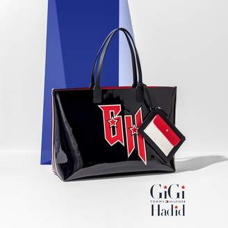 Tommy Hilfiger Gigi Hadid Monogram Tote Bag