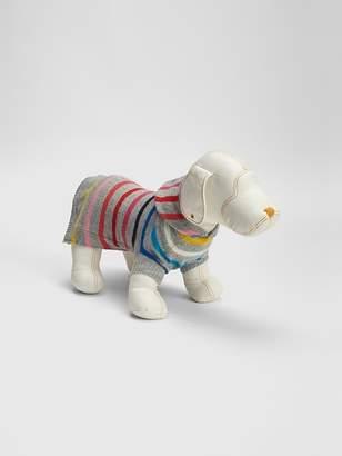 Gap Crazy Stripe Dog Sweater Hoodie