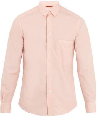 Barena VENEZIA Single-cuff point-collar cotton-poplin shirt