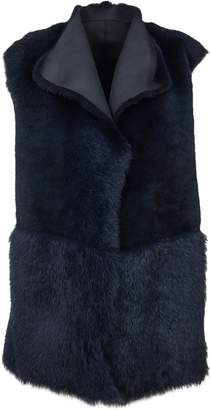 Paul Smith Fur-trimmed Vest
