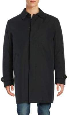 Lauren Ralph Lauren Fly-Front Insulated Topcoat