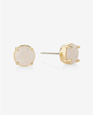 Express Crackle Post Back Stud Earrings $16.90 thestylecure.com