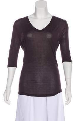 Maison Margiela Long Sleeve Knit Top