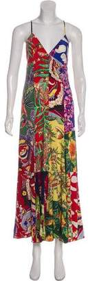 Polo Ralph Lauren Printed Midi Dress