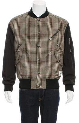 Stella McCartney 2017 Dogtooth Bomber Jacket w/ Tags