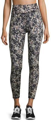 Floral Print Capri Legging $64 thestylecure.com