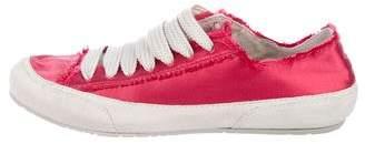 Pedro Garcia Parson Satin Sneakers