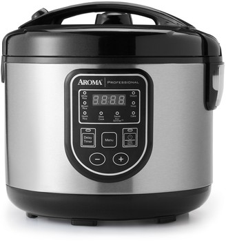 Aroma 20-Cup Stainless Steel Digital Rice Cooker & Multi-Cooker
