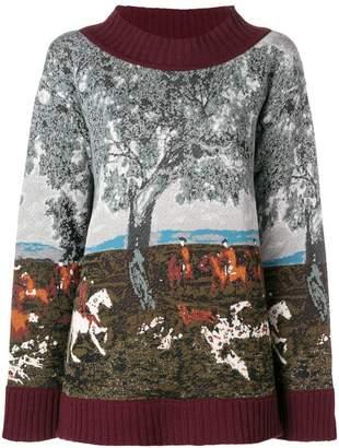 Antonio Marras intarsia sweater