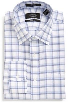 Nordstrom Men's Shop Classic Fit Non-Iron Check Dress Shirt $49.50 thestylecure.com