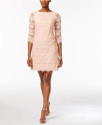 03b5c04dea4 ... Jessica Howard Petite Lace Illusion Sheath Dress
