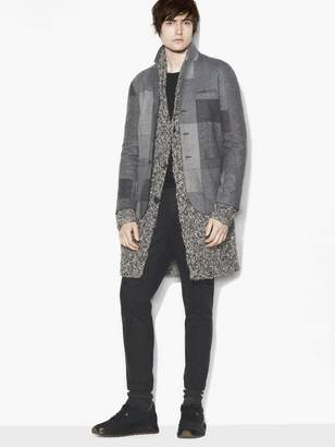 John Varvatos Patchwork Jacket