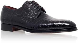 Magnanni Alligator Derby Shoe