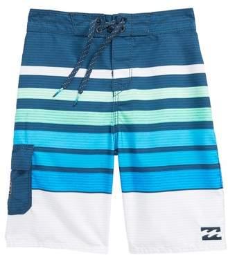 All Day OG Stripe Board Shorts