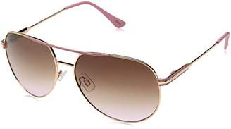 Elie Tahari Women's Th516 Rgdpk Aviator Sunglasses