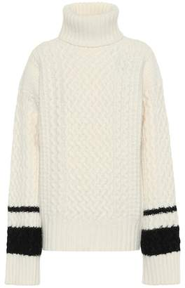 Haider Ackermann Wool and angora turtleneck sweater