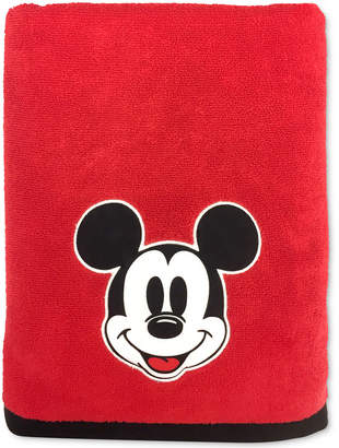 "Jay Franco Big Face Mickey Mouse 27"" x 50"" Bath Towel Bedding"