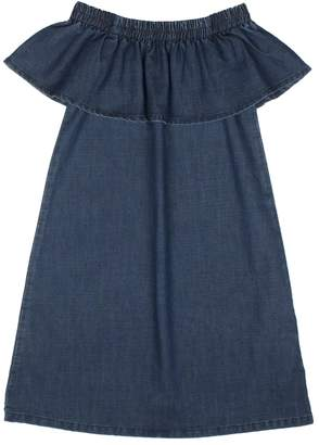 Hudson Denim Shoulder Dress