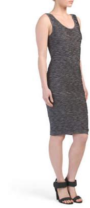 Open Scoop Back Sleeveless Dress
