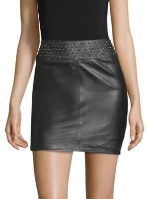 Zadig & Voltaire Jasmina Studs Mini Skirt