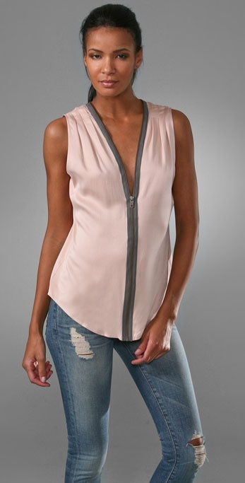 Twelfth St. By Cynthia Vincent Zipper Top