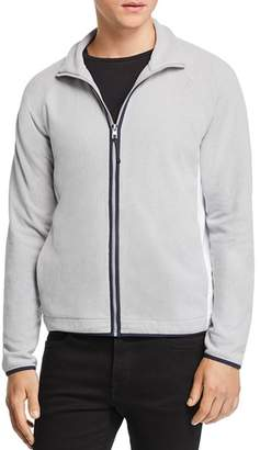 Michael Kors Contrast-Trimmed Zip-Front Fleece Jacket - 100% Exclusive