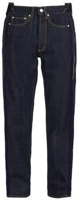 Alexander McQueen Deconstructed Relaxed Leg Jeans - Mens - Indigo