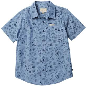 Lucky Brand Short Sleeve Denim Shirt (Big Boys)
