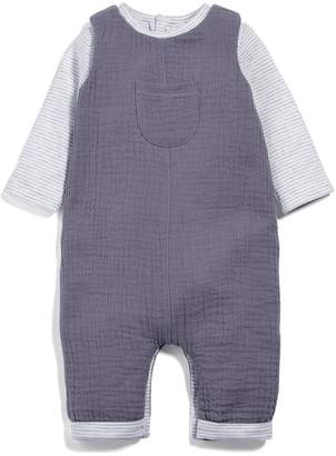Mamas and Papas Baby Unisex Dungaree Outfit