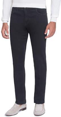 Stefano Ricci Straight-Leg Denim Jeans, Black