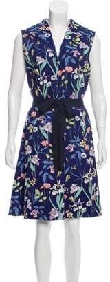 Marc Jacobs Floral Knee-Length Dress