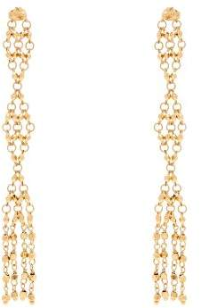 Rosantica By Michela Panero - Surreal Diamond Shaped Drop Earrings - Womens - Gold