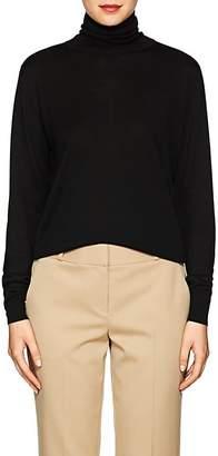 The Row Women's Donnie Silk Turtleneck Sweater