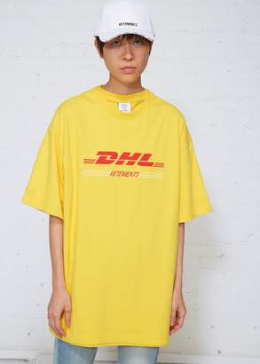 Vetements DHL Double T-shirt