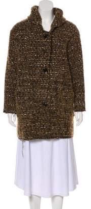 Etoile Isabel Marant Wool & Alpaca-Blend Bouclé Coat