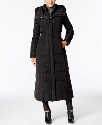 Cole Haan Petite Layered Maxi Puffer Coat