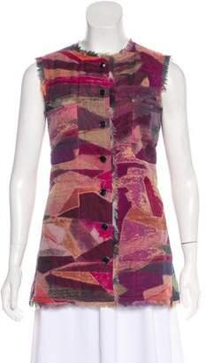 Chanel Silk Printed Vest