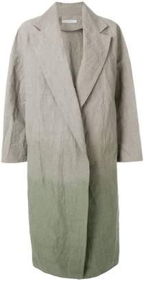 Dusan tie dye overcoat