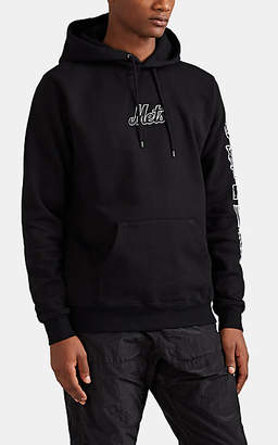 Marcelo Burlon County of Milan Men's NY MetsTM Cotton Hoodie - Black