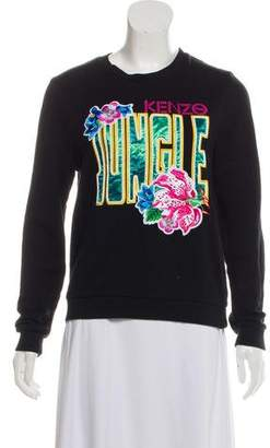 Kenzo Embroidered Pullover Sweatshirt