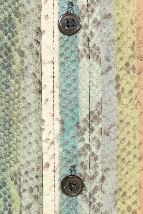Equipment Signature python-print silk-chiffon shirt