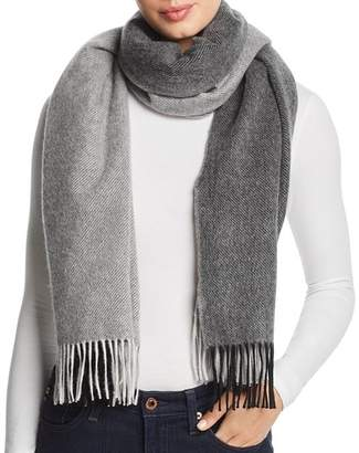Bloomingdale's C by Color-Block Cashmere Scarf - 100% Exclusive