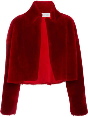 16Arlington Cropped Sheepskin Jacket