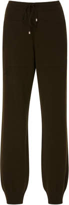 Barrie Drawstring Cashmere Jogger Pant