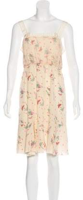 Nina Ricci Silk Printed Dress