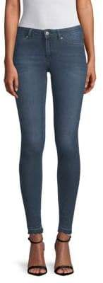 Mid-Rise Stretch Skinny Jeans