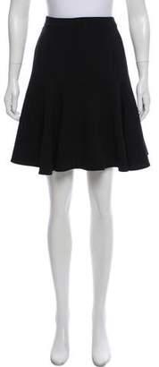 Ralph Lauren Black Label Flared Knee-Length Skirt