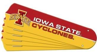 NCAA Ceiling Fan Designers 7990-ISU New IOWA STATE CYCLONES 52 in. Ceiling Fan Blade Set