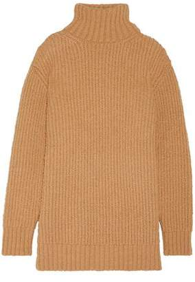Marc Jacobs Oversized Ribbed Wool And Alpaca-Blend Turtleneck Sweater