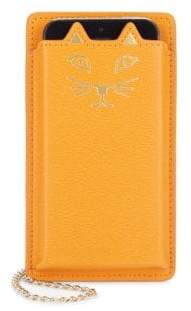 Charlotte Olympia Feline iPhone 5 Leather Case
